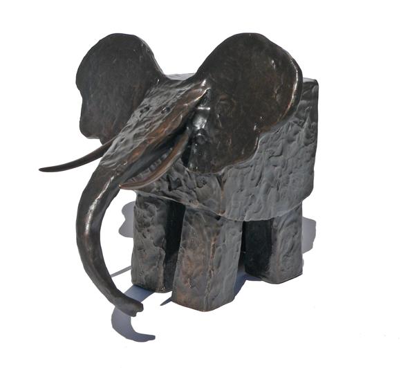 580p-SQUARE ELEPHANT SMALL